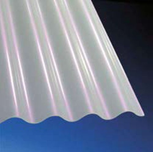 3mm ACRYLGLAS-Wellplatten 76/18 SINUS - weiß - SUNSTOP