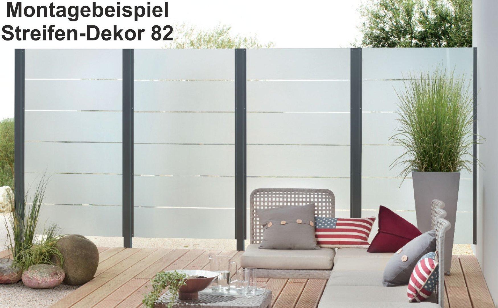 esg satinato wei modell 82 sichtschutz windschutz 8mm g nstig. Black Bedroom Furniture Sets. Home Design Ideas
