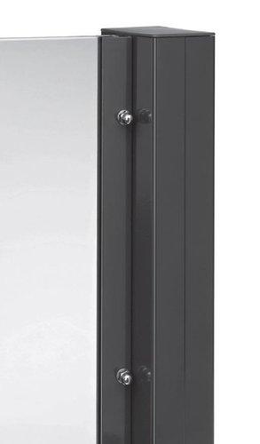 pfostensystem alu tejeflex aluminium pfosten glas. Black Bedroom Furniture Sets. Home Design Ideas
