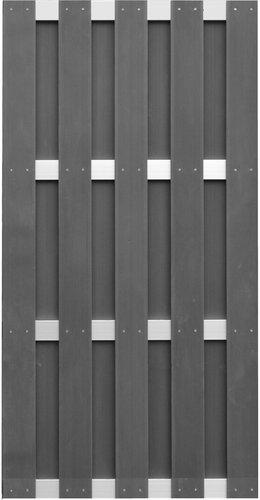 jinan serie wpc alu zaun sichtschutzelemente wpc g nstig. Black Bedroom Furniture Sets. Home Design Ideas